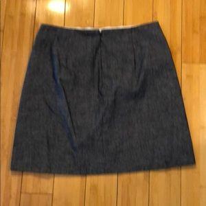 J. Crew Skirts - J.Crew - Chambray Skirt - Size 4